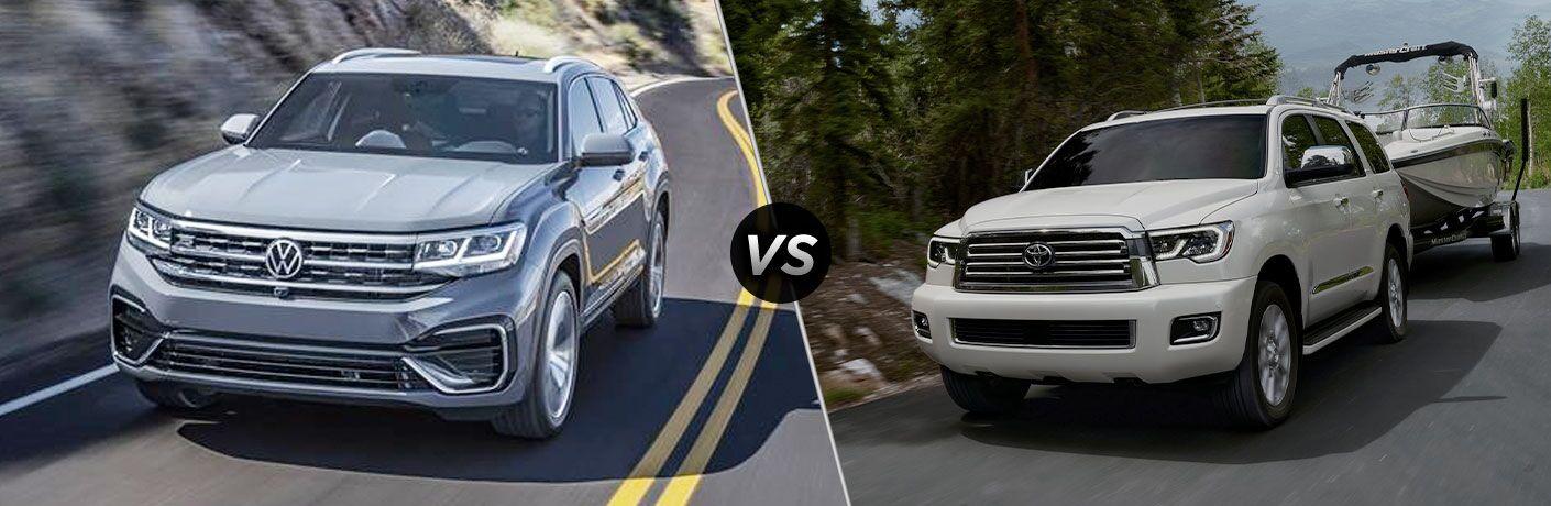 2020 Volkswagen Atlas vs 2020 Toyota Sequoia