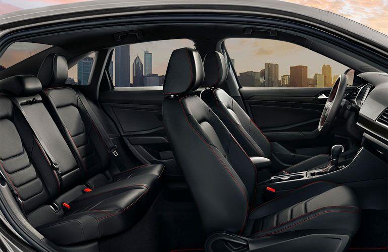 2020 Volkswagen Jetta GLI interior side shot of seating rows