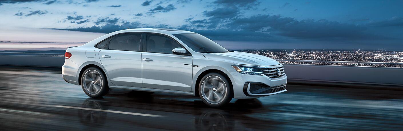 2020 VW Passat on the road
