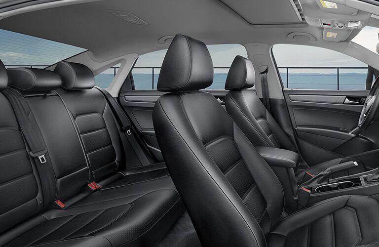 2020 VW Passat interior side view