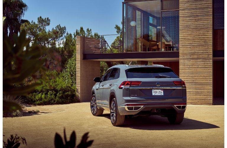 2020 VW Atlas Cross Sport outside a home