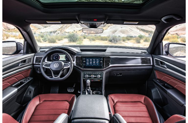 2020 VW Atlas Cross Sport interior view