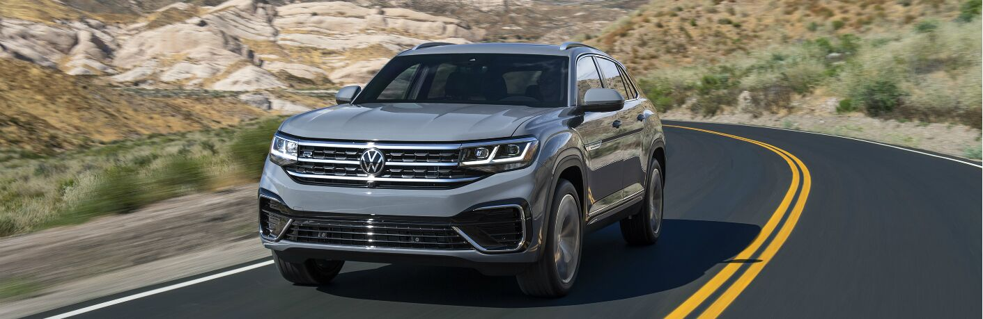 2020 VW Atlas Cross Sport on a highway