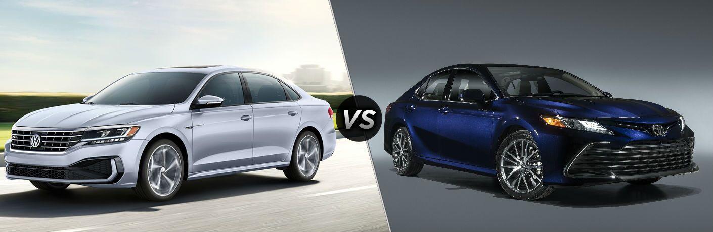 2020 Volkswagen Passat vs 2021 Toyota Camry