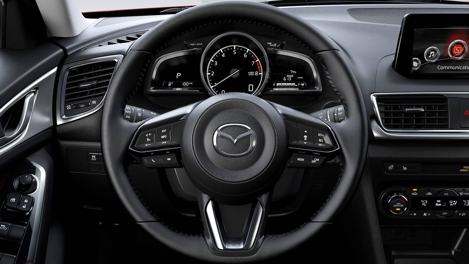 mazda3 dashboard photo