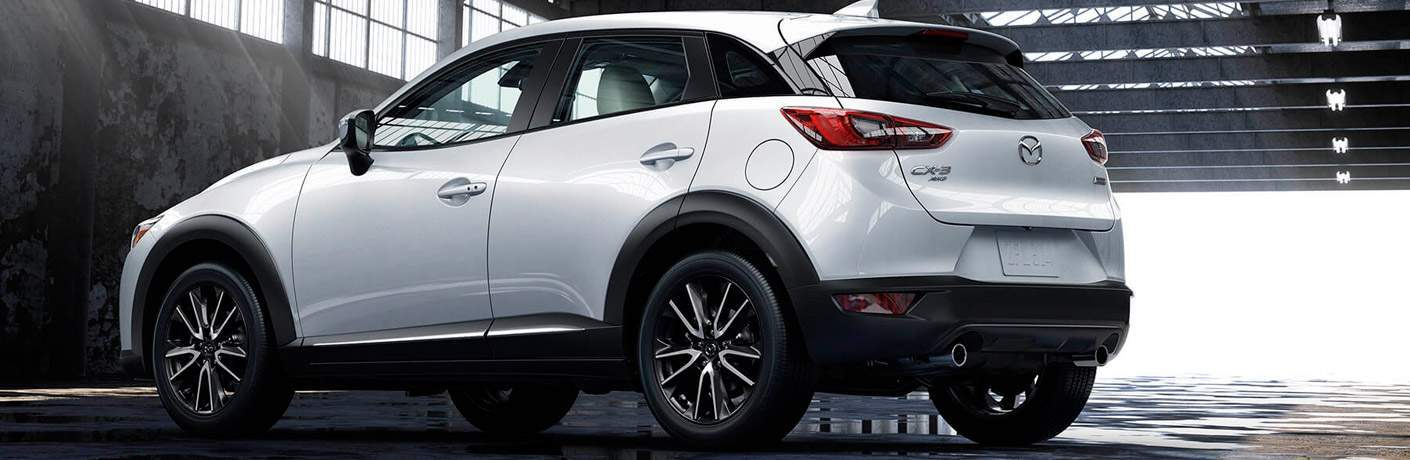 2017 Mazda CX-3 Exterior View of Side and Rear End