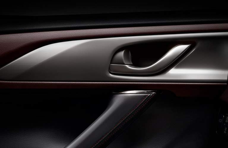 Interior Door Handle of the 2017 Mazda CX-9