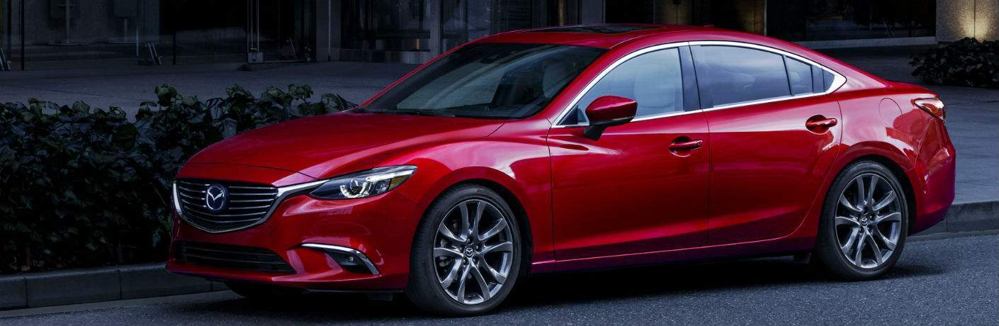2017.5 Mazda6 Exterior Side View in Red
