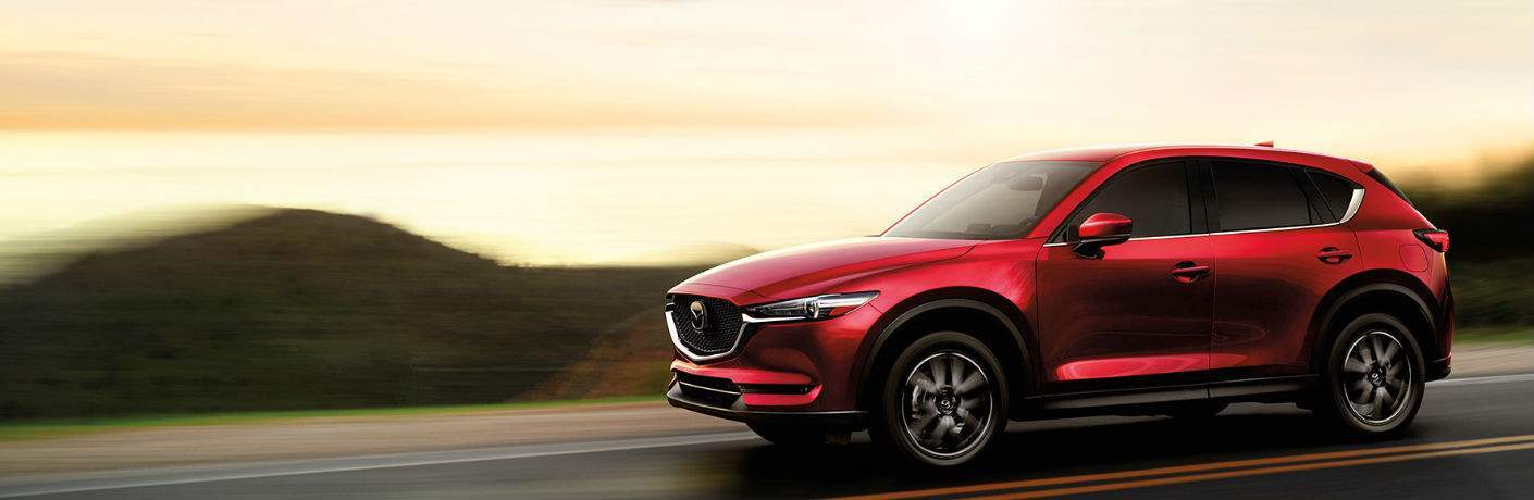 2017 Mazda CX-5 Red Exterior View