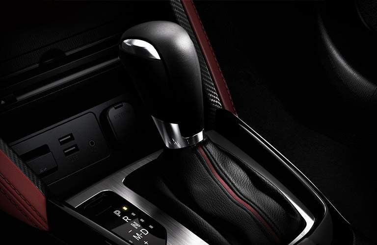 2018 Mazda CX-3 gear shift