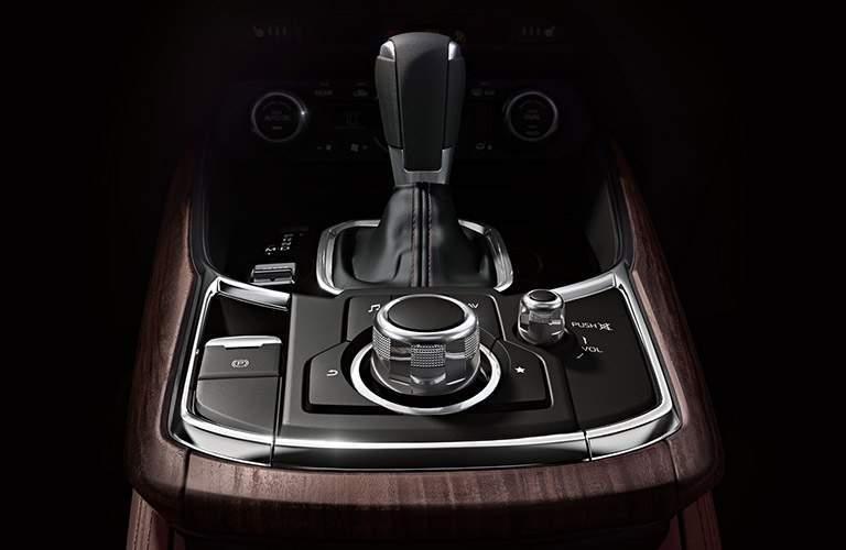 2018 Mazda CX-9 Signature Grade Accents on Center Console and Shifter Knob