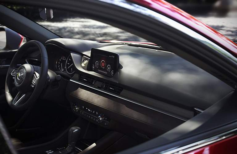 2018 Mazda6 Interior View of Front Dashboard