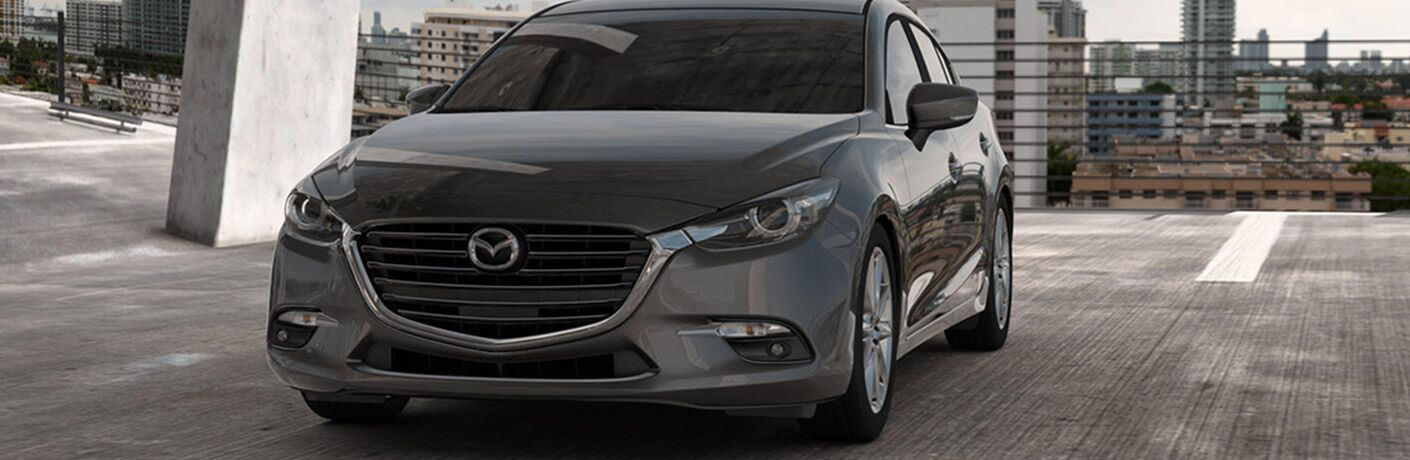 2018 Mazda3 in Grey Front View