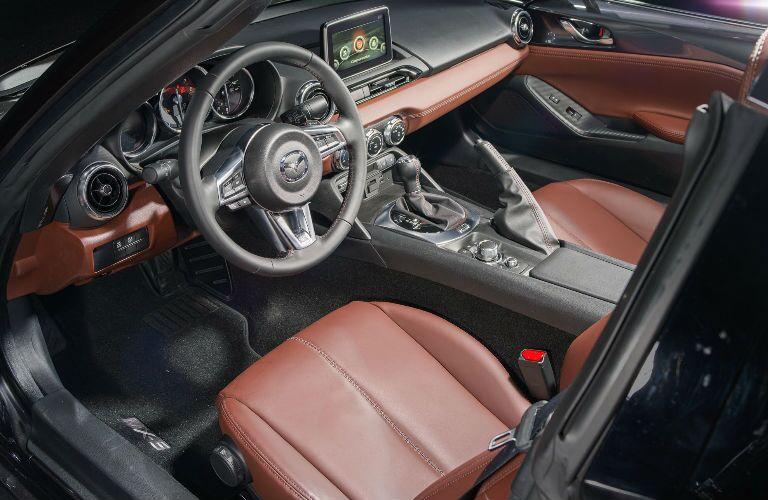 2018 Mazda MX-5 Miata RF Front Cabin