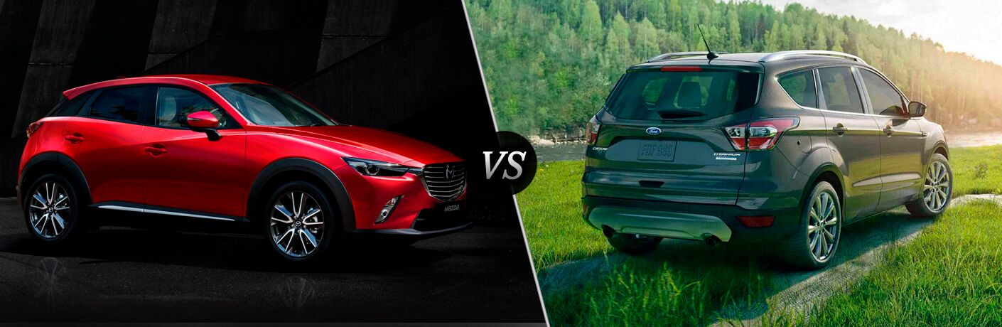 2018 Mazda CX-3 vs 2018 Ford Escape