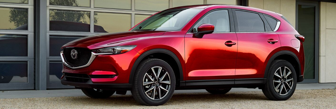 2018 Mazda CX-5 parked exterior front side view