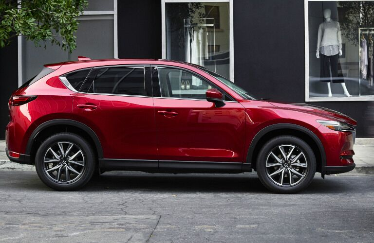2018 Mazda CX-5 parked in street