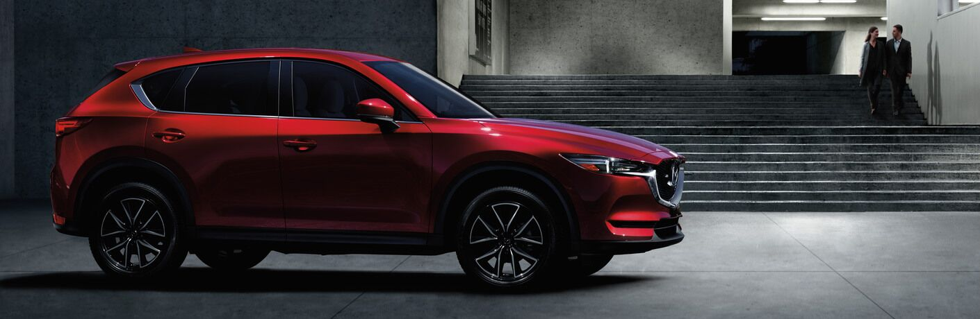2018 Mazda CX-5 Side View in Red