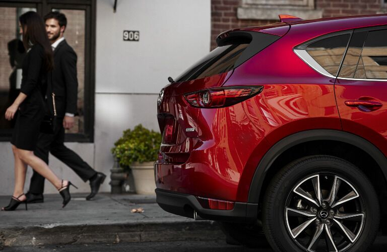 2018 Mazda CX-5 exterior rear side view
