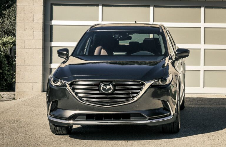 2018 Mazda CX-9 parked in driveway exterior front view