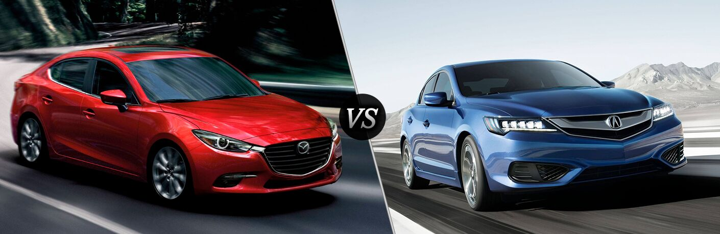 2018 Mazda3 vs 2018 Acura ILX