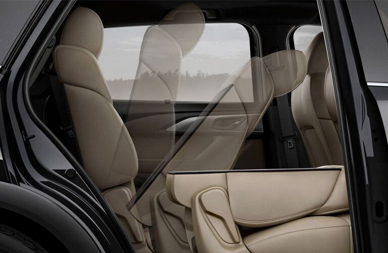 2019 Mazda CX-9 second row seat folding forward