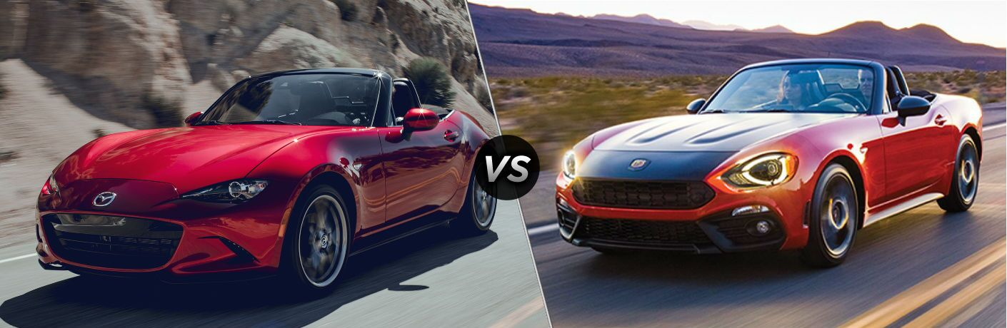 2019 Mazda MX-5 Miata vs 2019 Fiat 124 Spider