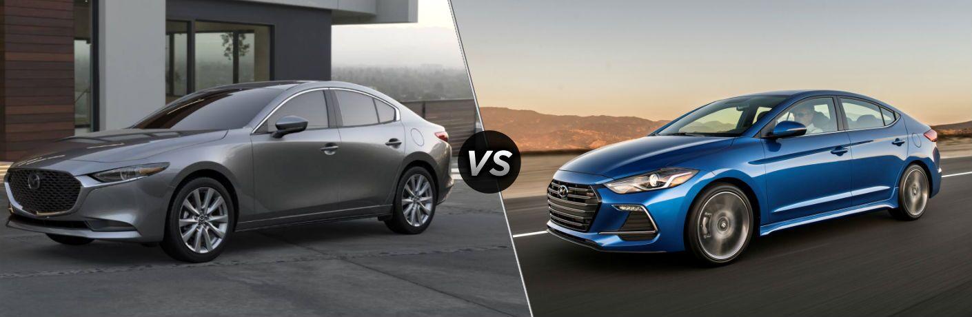 2019 Mazda3 vs 2019 Hyundai Elantra