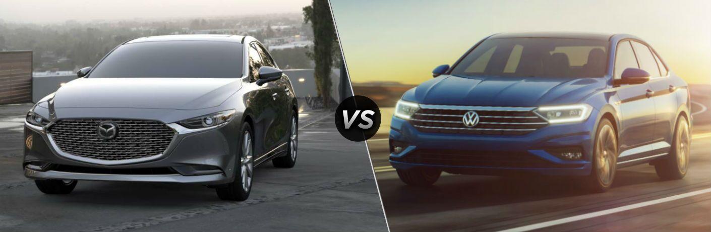2019 Mazda3 vs 2019 Volkswagen Jetta