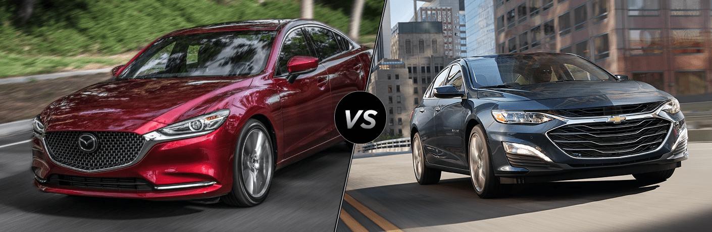 2019 Mazda6 vs 2019 Chevrolet Malibu