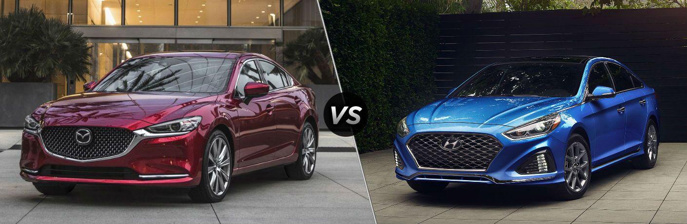2019 Mazda6 vs 2019 Hyundai Sonata