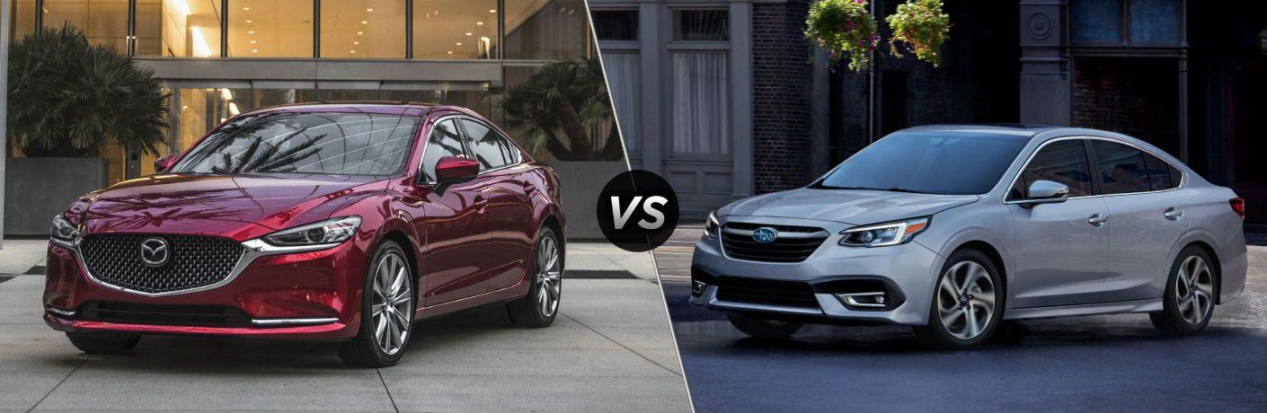2019 Mazda6 vs 2019 Subaru Legacy