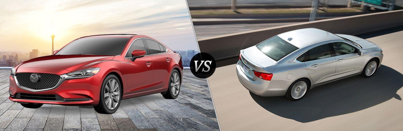 2019 Mazda6 vs 2019 Chevrolet Impala