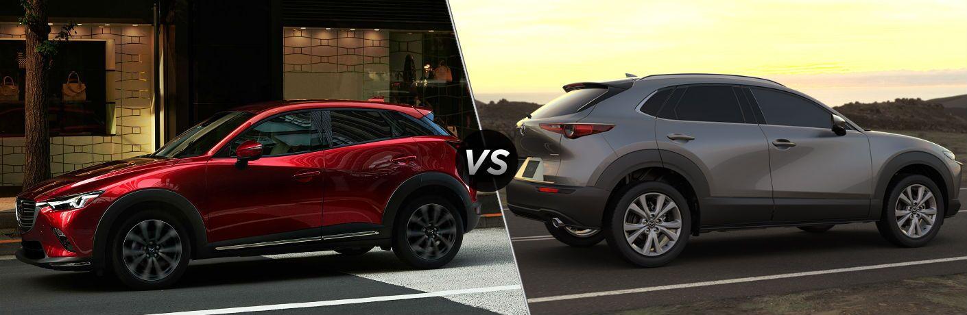 2020 Mazda CX-3 vs 2020 Mazda CX-30