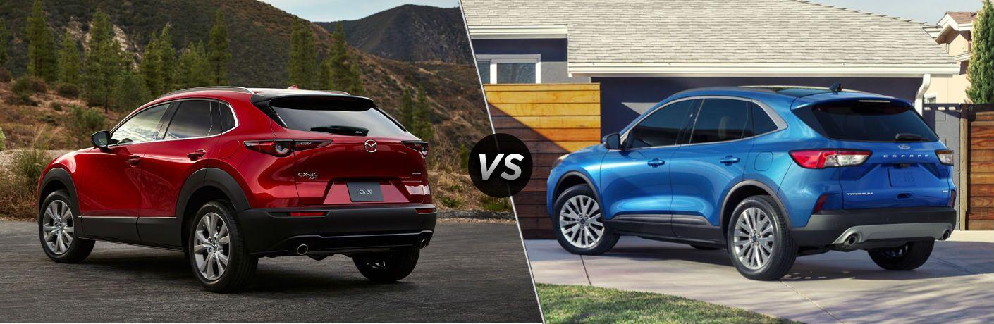 2020 Mazda CX-30 vs 2020 Ford Escape