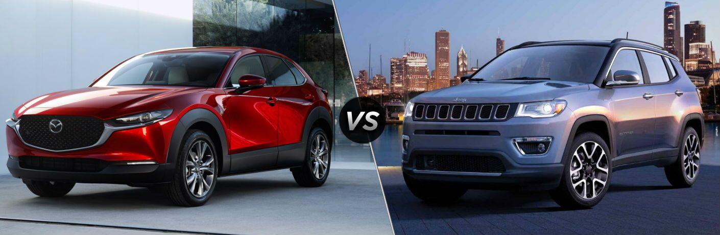 2020 Mazda CX-30 vs 2020 Jeep Compass