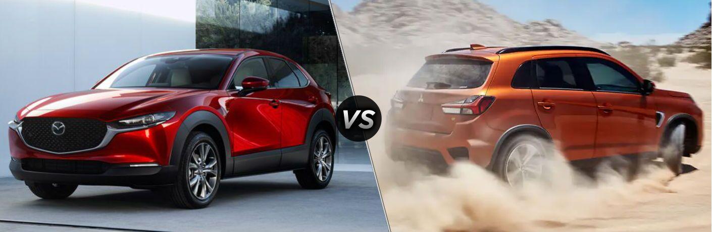 2020 Mazda CX-30 vs 2020 Mitsubishi Outlander Sport