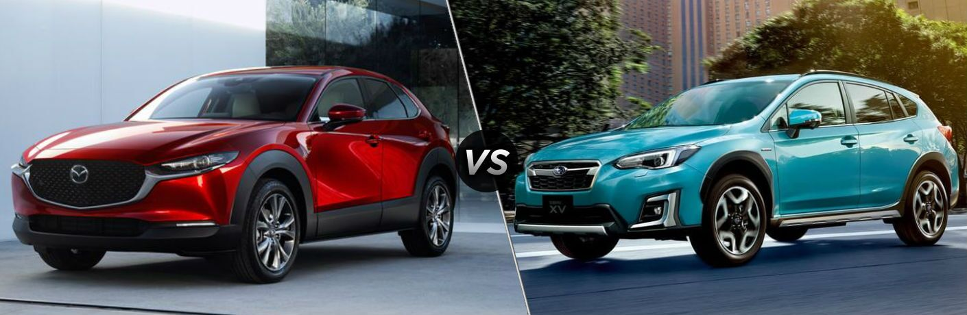 2020 Mazda CX-30 vs 2020 Subaru Crosstrek