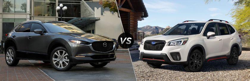 2020 Mazda CX-30 vs 2020 Subaru Forester