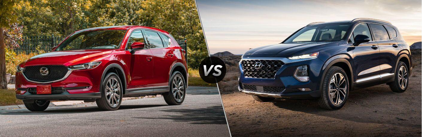 2020 Mazda CX-5 vs 2020 Hyundai Santa Fe