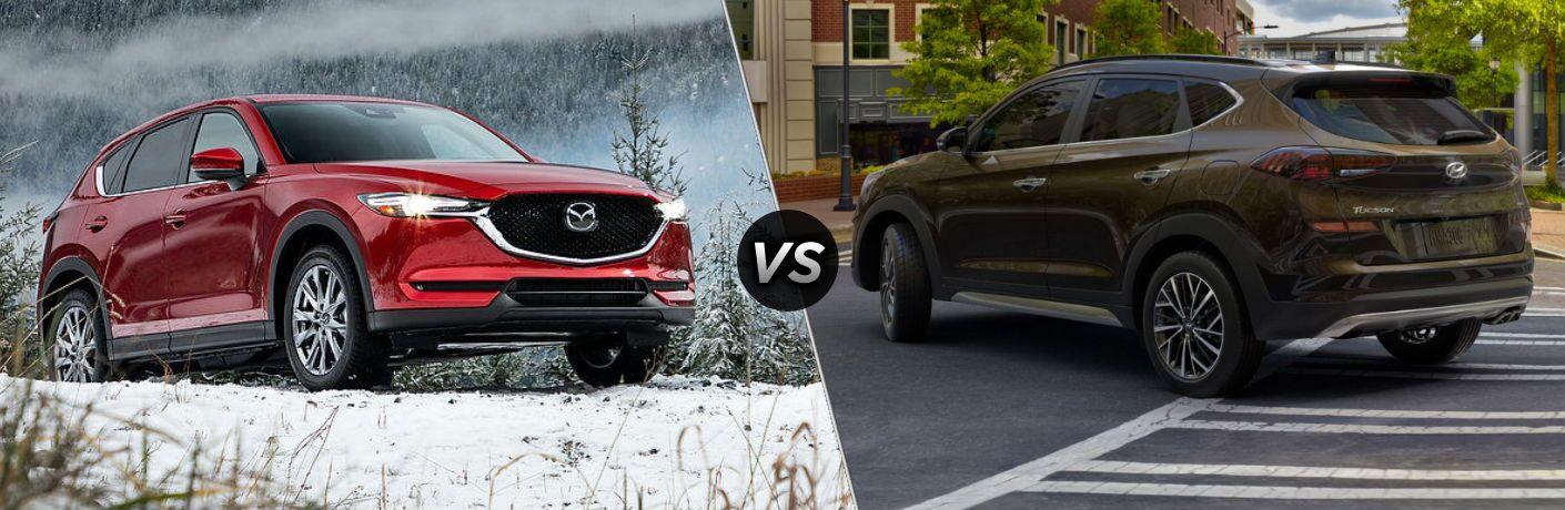 2020 Mazda CX-5 vs 2020 Hyundai Tucson