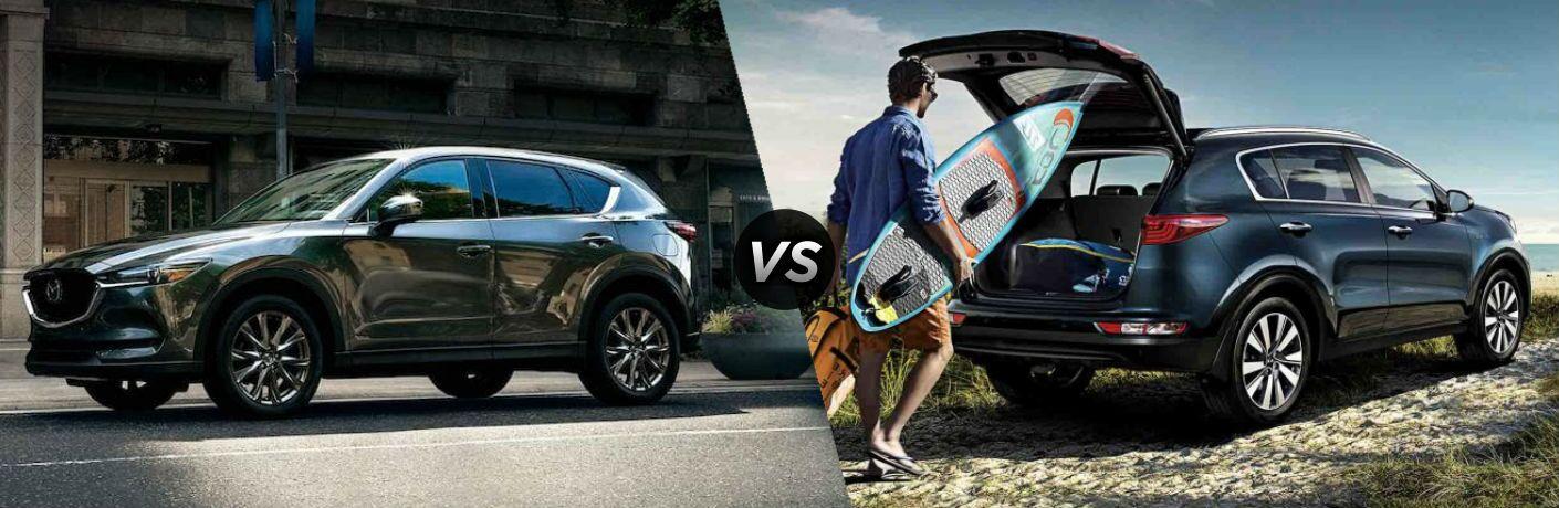 2020 Mazda CX-5 vs 2020 Kia Sportage