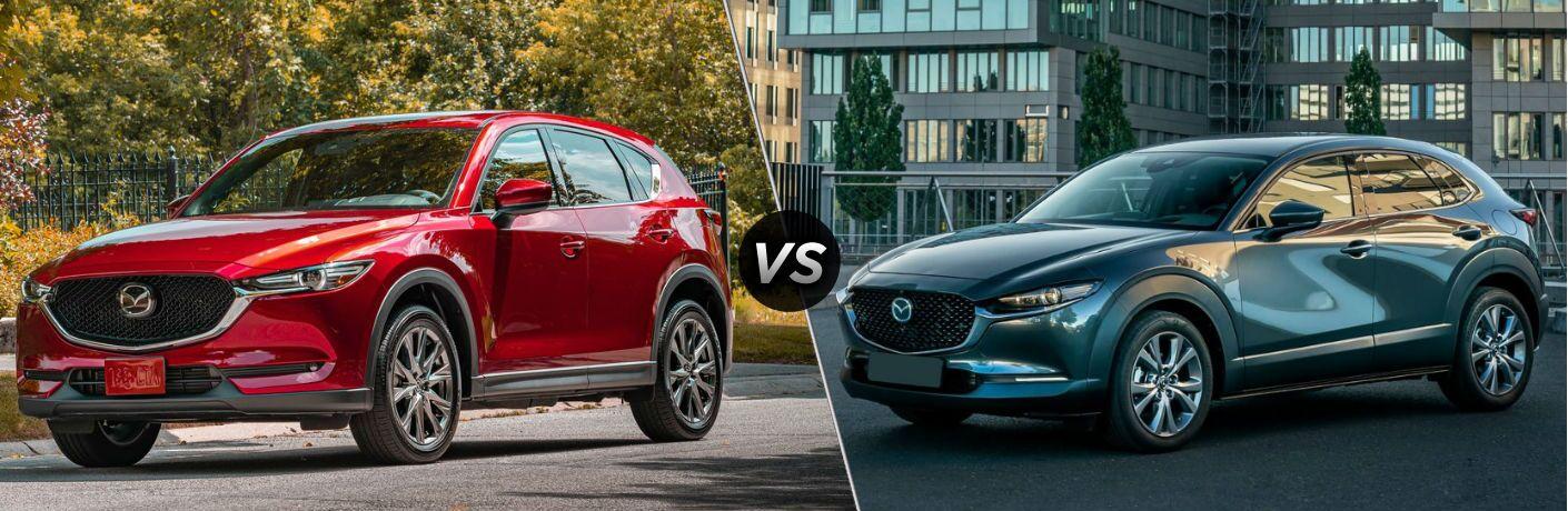 2020 Mazda CX-5 vs 2020 Mazda CX-30