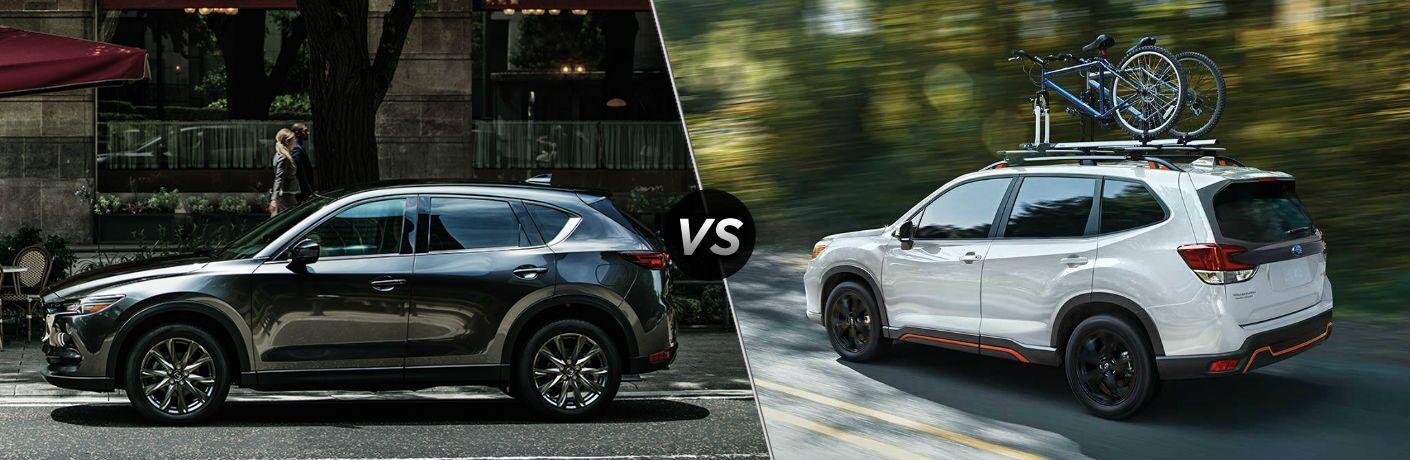 2020 Mazda CX-5 vs 2020 Subaru Forester