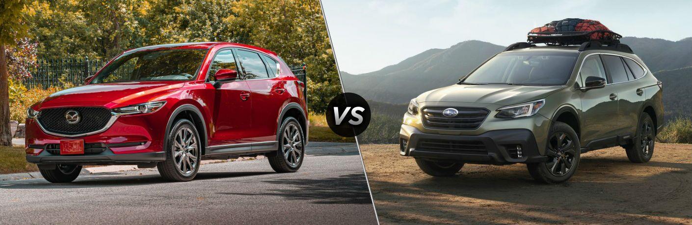 2020 Mazda CX-5 vs 2020 Subaru Outback