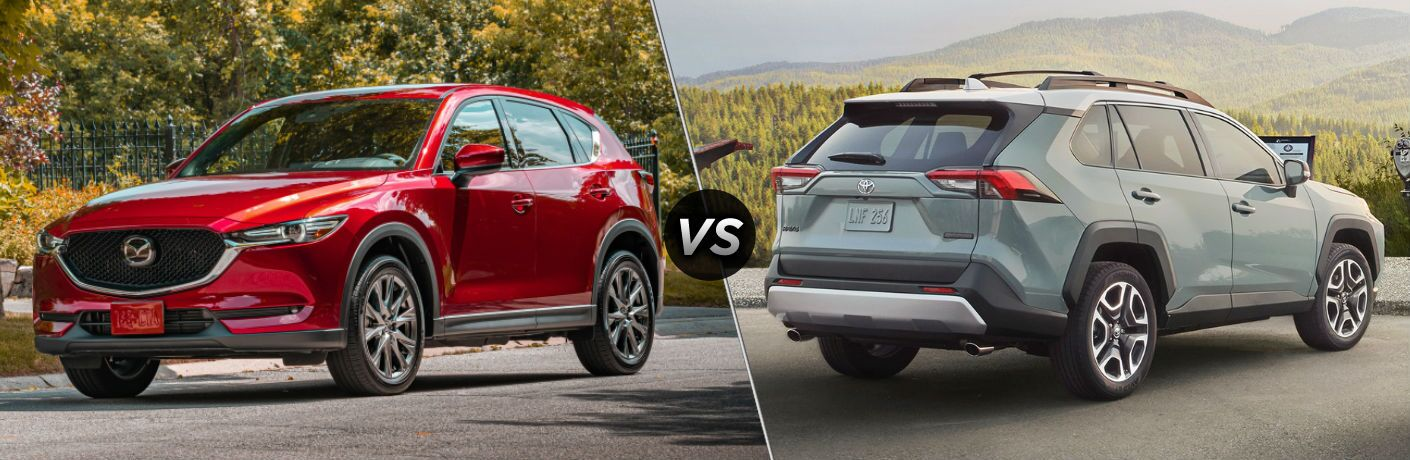 2020 Mazda CX-5 vs 2020 Toyota RAV4