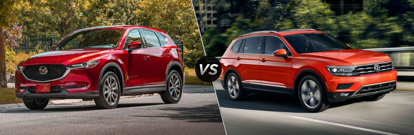 2020 Mazda CX-5 vs 2020 VW Tiguan