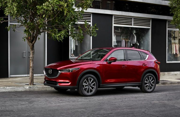 2020 Mazda CX-5 on city street