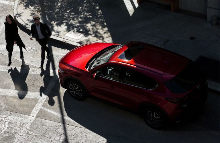 2020 Mazda CX-5 viewed from above
