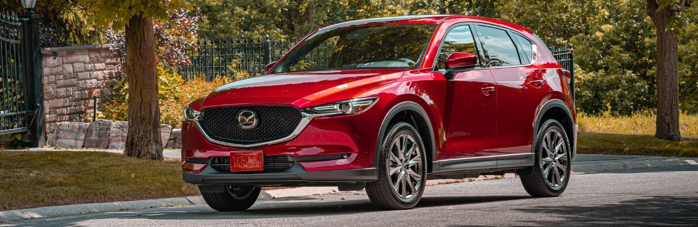 2020 Mazda CX-5 on residential street